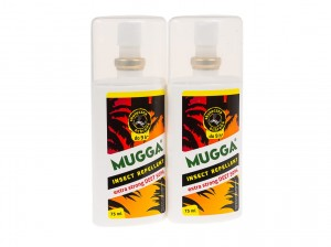 Zestaw 2x Mugga Spray Strong 50% deet komary